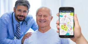 Remotely monitor your Senior's physician visits using a Safety Senior app