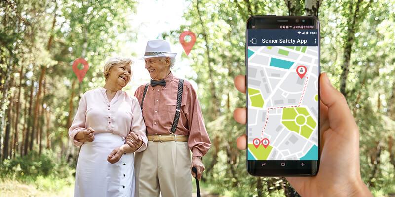 Senior GPS Tracker App
