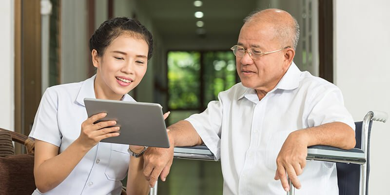 Senior care technology that helps care givers worldwide